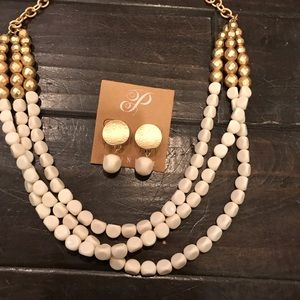 New Plunder Necklace and Earrings set